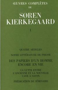 Oeuvres complètes. Volume 1, 1834-1841