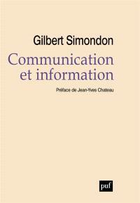 Communication et information : cours et conférences