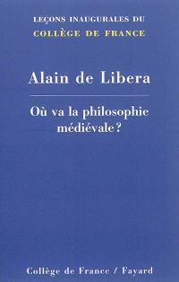 Où va la philosophie médiévale ?