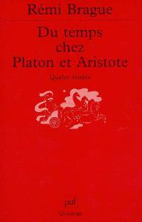 Du temps chez Platon et Aristote : quatre études