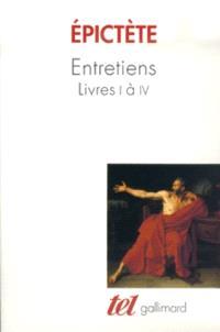 Entretiens : livres I à IV