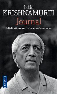 Journal : méditations sur la beauté du monde