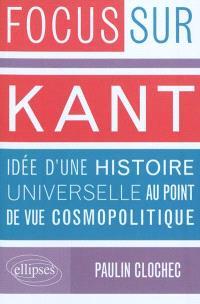 Kant, Idée d'une histoire universelle au point de vue cosmopolitique