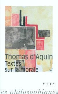 Textes sur la morale