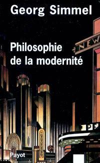 Philosophie de la modernité