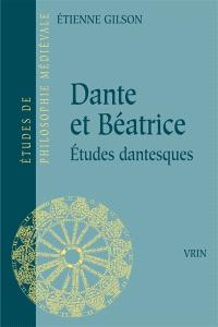 Dante et Béatrice : études dantesques