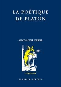 La poétique de Platon