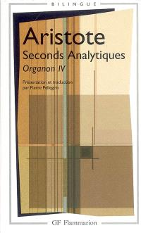Organon. Volume 4, Seconds analytiques