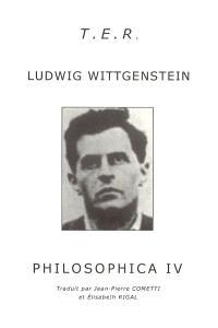 Philosophica. Volume 4
