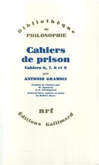 Cahiers de prison. Volume 2, Cahiers n° 6, 7, 8, 9