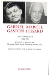 Correspondance : 1934-1971