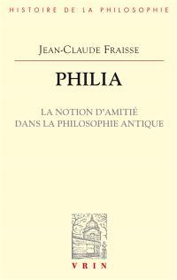 Philia : la notion d'amitié dans la philosophie antique