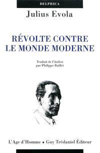 Révolte contre le monde moderne