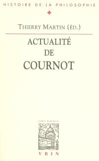 Actualité de Cournot