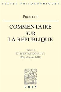 Commentaire sur la République. Volume 1, Livres 1-3