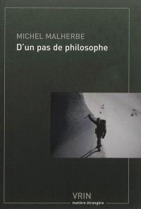 D'un pas de philosophe en montagne