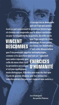 Exercices d'humanité : entretiens avec Philippe de Lara