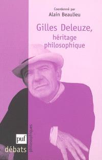 Gilles Deleuze, héritage philosophique