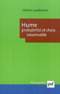Hume : probabilité et choix raisonnable