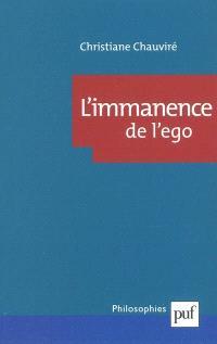 L'immanence de l'ego : sujet et subjectivité chez Wittgenstein