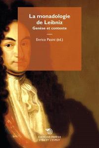 La Monadologie de Leibniz : genèse et contexte