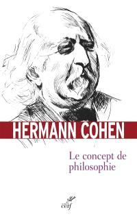 Le concept de philosophie