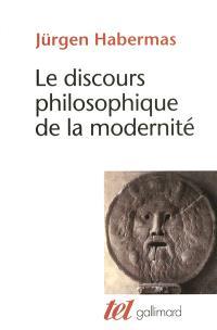 Le discours philosophique de la modernité : douze conférences