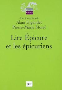 Lire Epicure et les épicuriens