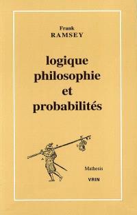 Logique, philosophie et probabilités