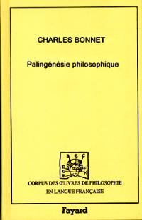 Palingénésie philosophique, 1770