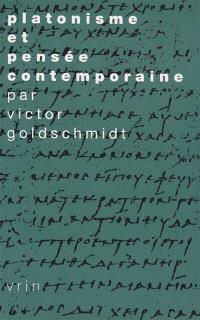 Platonisme et pensée contemporaine