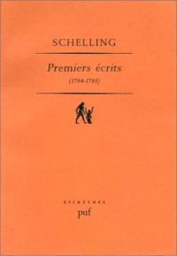 Premiers écrits : 1794-1795