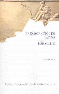 Présocratiques latins, Héraclite : de Varron à saint Augustin