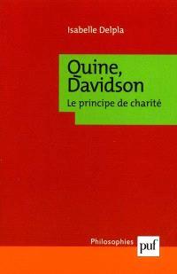 Quine, Davidson : le principe de charité