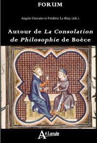 Autour de La consolation de Philosophie de Boèce