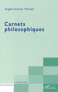 Carnets philosophiques