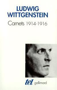 Carnets, 1914-1916
