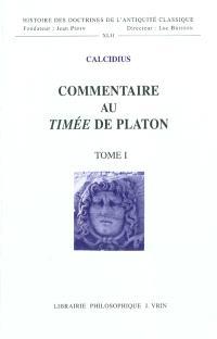 Commentaire au Timée de Platon