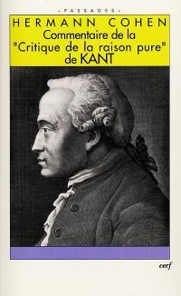 Commentaire de la Critique de la raison pure de Kant