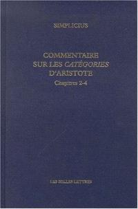 Commentaire sur les Catégories d'Aristote. Volume 2