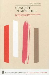 Concept et méthode : la conception de la philosophie de Gilles Deleuze