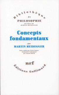 Concepts fondamentaux : cours 1923-1944