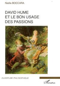 David Hume et le bon usage des passions