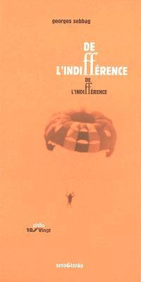 De l'indifférence