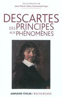 Descartes, des principes aux phénomènes