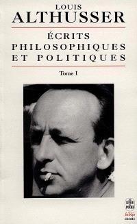Ecrits philosophiques et politiques. Volume 1