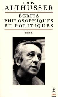 Ecrits philosophiques et politiques. Volume 2