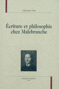 Ecriture et philosophie chez Malebranche