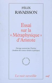 Essai sur la Métaphysique d'Aristote