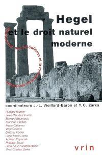 Hegel et le droit naturel moderne